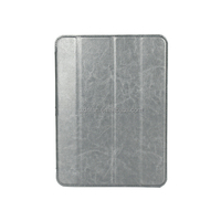 Silver neweat fashion leather tablet case for samsung galaxy tab 4 10inch