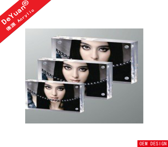 Clear Acrylic Women Free Sexy Photo Frame