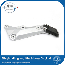 Customized assembling metal pedal motorcycle parts by aluminium casting