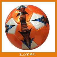 most popular laser soccer balls official size Multicolor with good quality laser football