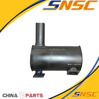 Professional sale Construction Machinery Parts 612600110828 generator muffler