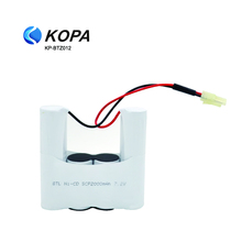 7.2V AAA 800mah 1300mah Ni-Mh Rechargeable Battery Pack AA 800Mah for Vacuum Cleaner