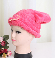 Microfiber dry hair Hat magic hair dryer hair dryer Nano fiber Cap Hat