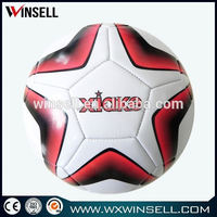 customized sport products ball of adult soccers/foot ball professional
