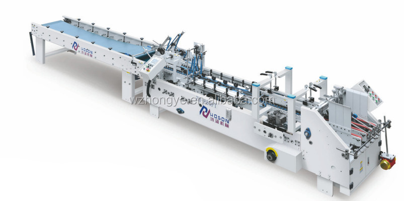 ZH-880FT Folding Box Gluing Machine
