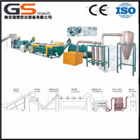 GS -,mach manufacturer direct plastic PET beverage bottle recycling machine