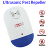 Mosquito Pest Repeller Ultrasonic Electronic Pest Control Repellent for Mice with LED Light