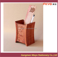 2015 New Products Wooden Pen Stand,Desk Organizer