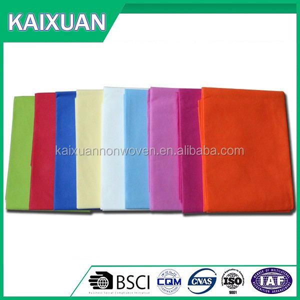 multi color flower packing fabric/chemical bond nonwoven fabric