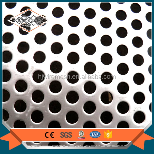 High quality decorative aluminum perforated metal sheets low price