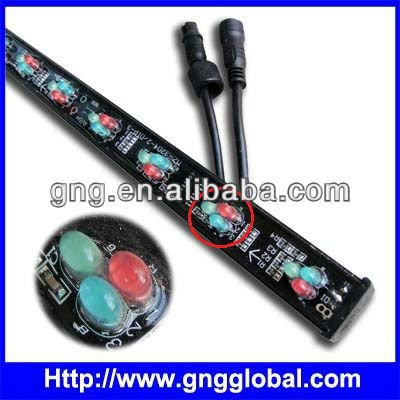 led color changing light tube bar RGB addressable programming