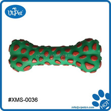 Christmas Vinyl Toy Bone for dog