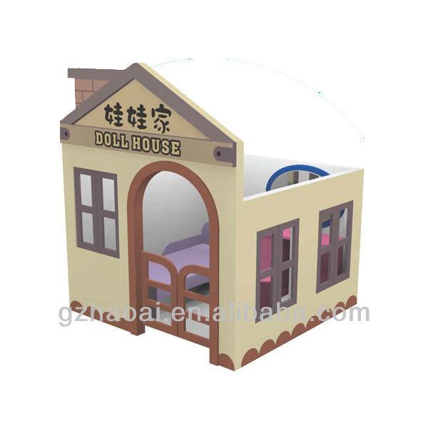 mini jardim aquatico: Moderno Moda Mini Casa De Boneca De Madeira do jardim de Infância