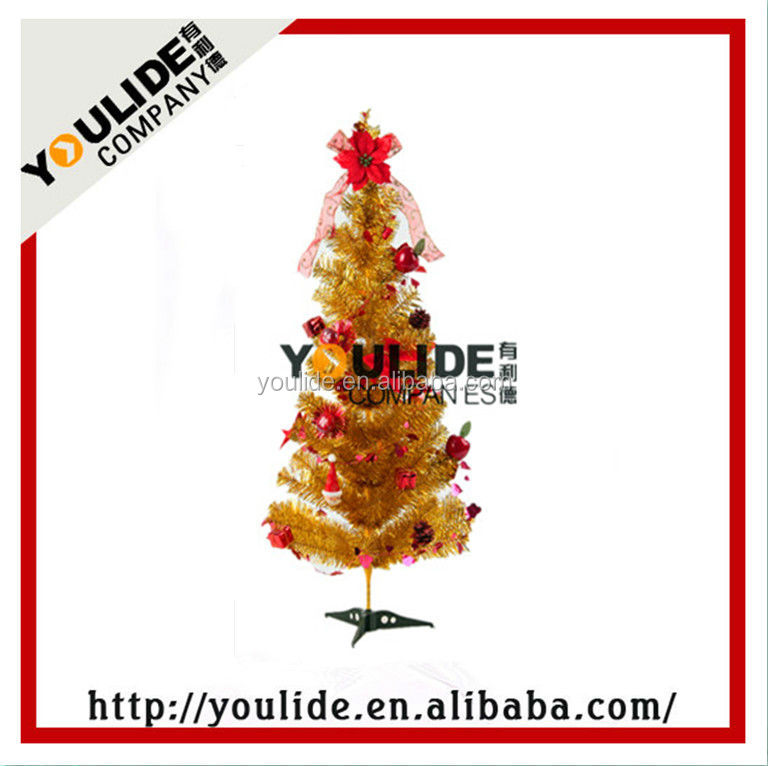 pine needle tree PVC christmas tree christmas ornament 2016 christmas tree