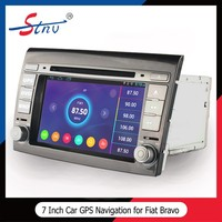 7 inch gps navigation with car mp3/mp4 player for Fiat Bravo