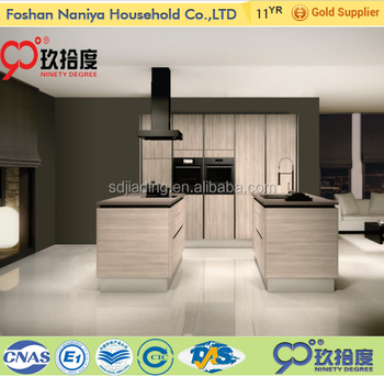 New model commercial kitchen cabinet from guangzhou furniture market