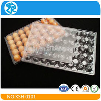 Factory price plastic blister tray clamshell packaging for chicken eggs