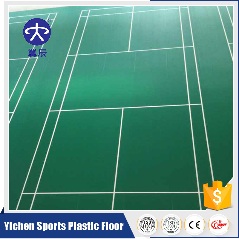 Pvc Sports Indoor Sport Badminton Court Size Floor Surface Buy