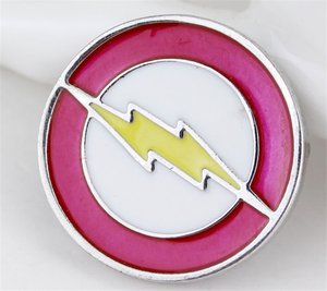 Alloy Flash Lapel Pin Badge T-Shirt French Cufflinks Tie Tack Pin Brooch