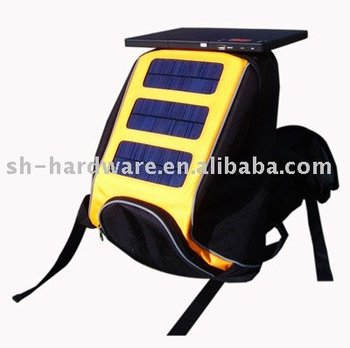 solar charger sports backpack