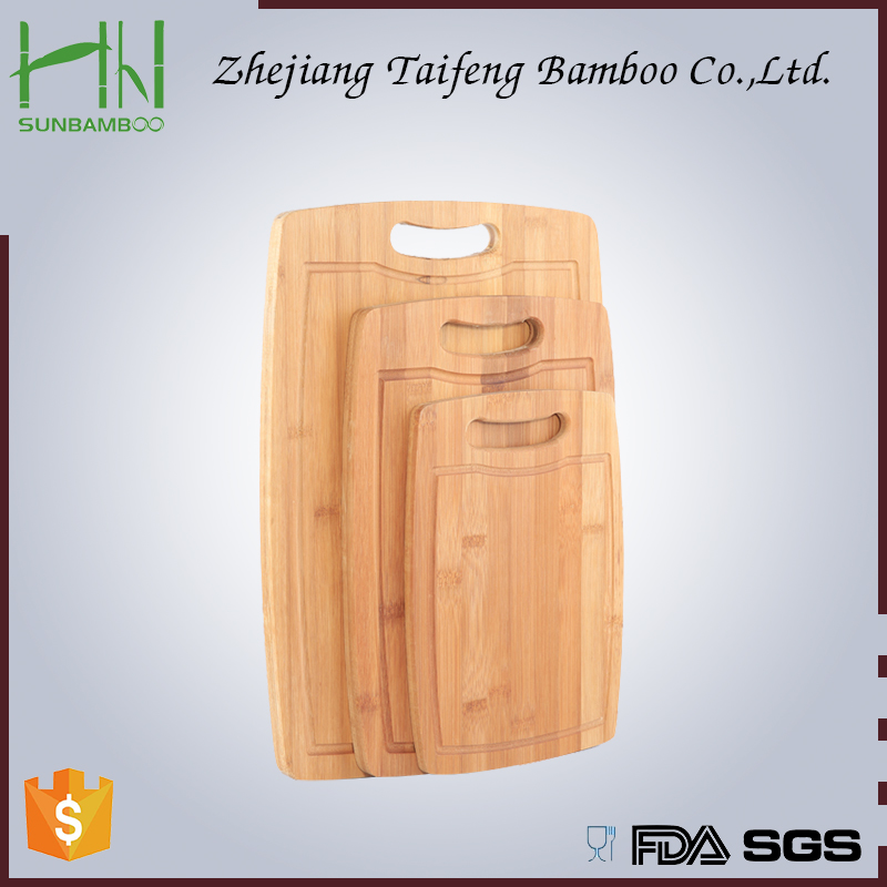 high quality unique chopping board ,bamboo chopping board with silicone corners and knife, mini bamboo cutting board