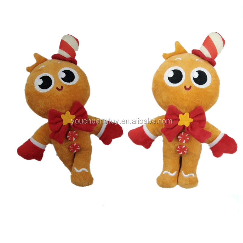 best selling plush christmas gingerbread man soft toy
