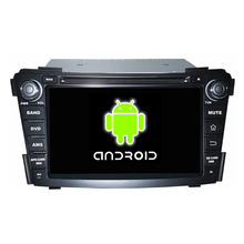 pure android touch screen CAR MULTIMEDIA DVD WITH GPS NAVIGATION SYSTEM FOR I40 WITH FREE MAP+rear camera