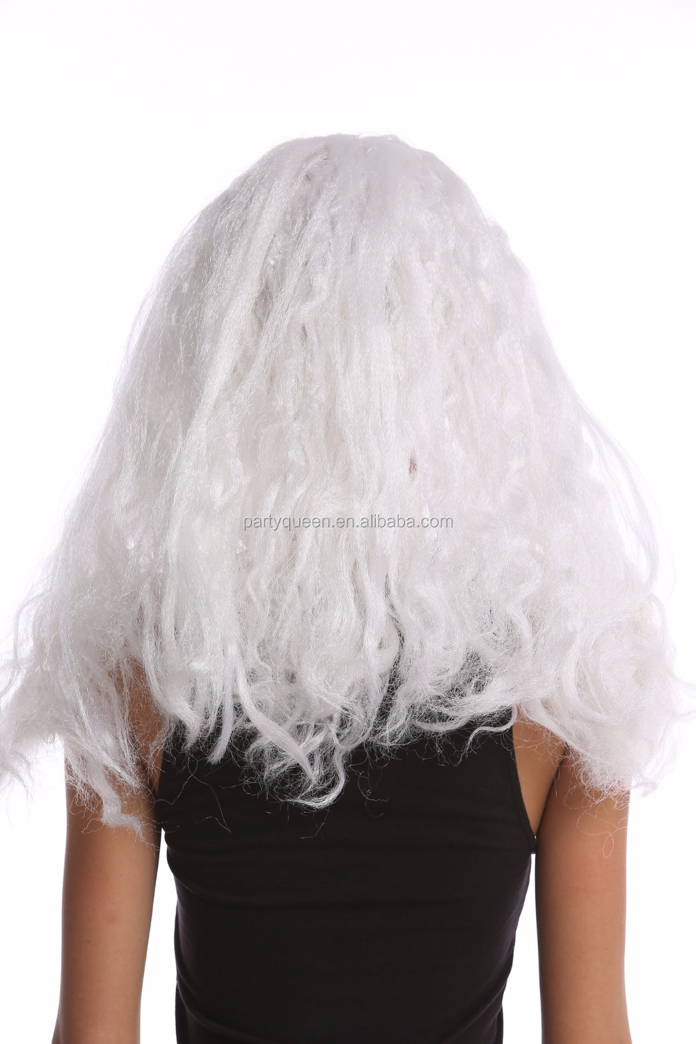 Party white braids princess wigs P-W250