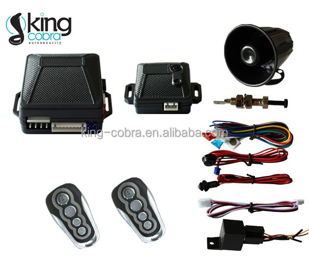 Car accessories spanish car alarm central and south america