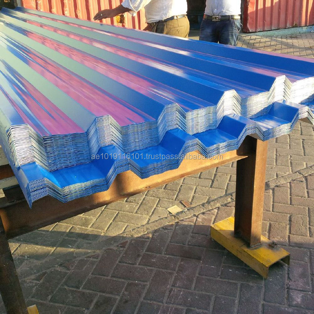 DANA Corrugated Profile Sheet For Ware House Shed Construction In Dubai Uae Qatar
