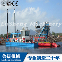 Hydraulic River Sand Dredger Cutter Suction