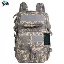 Amazon new product ergonomic design 40L waterproof camouflage bag,high quality tactical military backpack