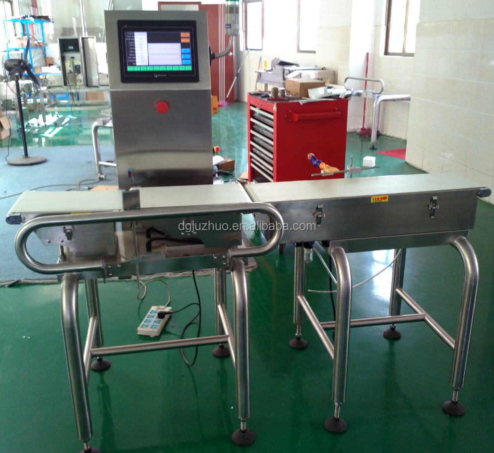 High Speed Checkweigher,electronic checkweigher,conveyor check weigher,high accuracy weighing machine JZ-W1200g