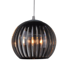 Zhongshan dining table black color acrylic pendant lamp for kitchen