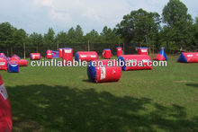 bunker field inflatable paintball