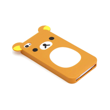 Lovely animal shape silicone phone case rubber cell phone case for iphone 6