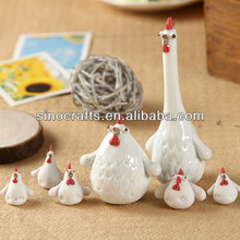 factory direct easter custom ceramic chickens and roosters
