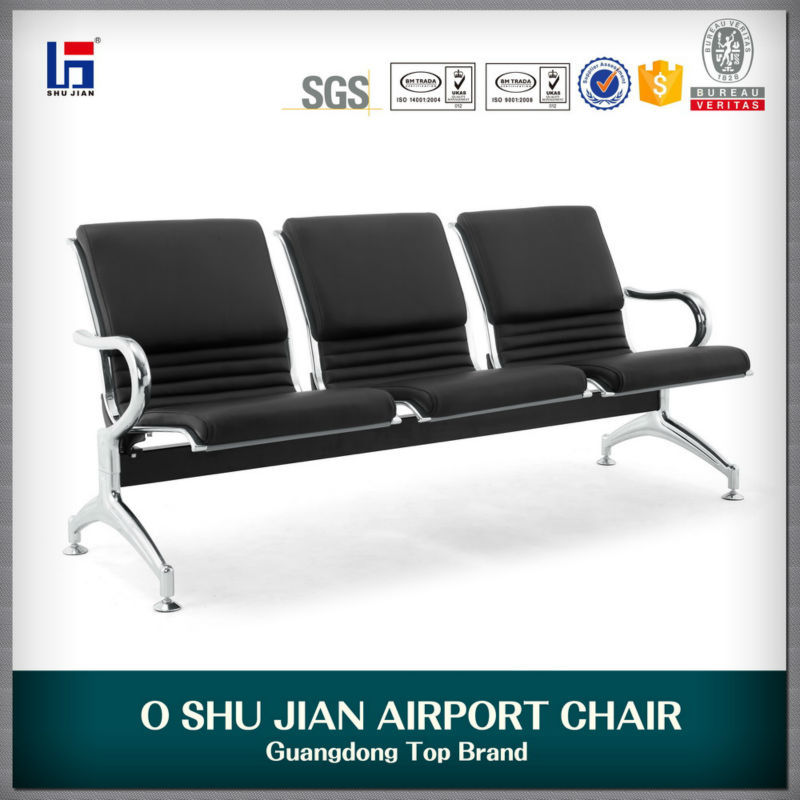 3 seater airport chair public chair in airport