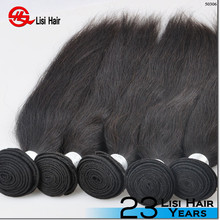 2015 Best Sale Large In Stock Human Hair Leading Manufacture 100% burmese straight virgin hair