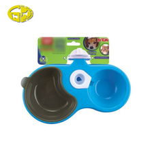 Unique design wall mounted dog pet water feeder bowls