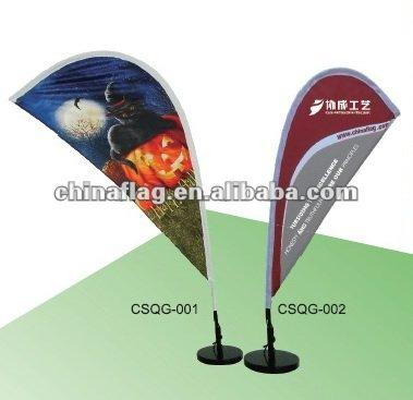 High Quality Hot Selling beach flags with poles