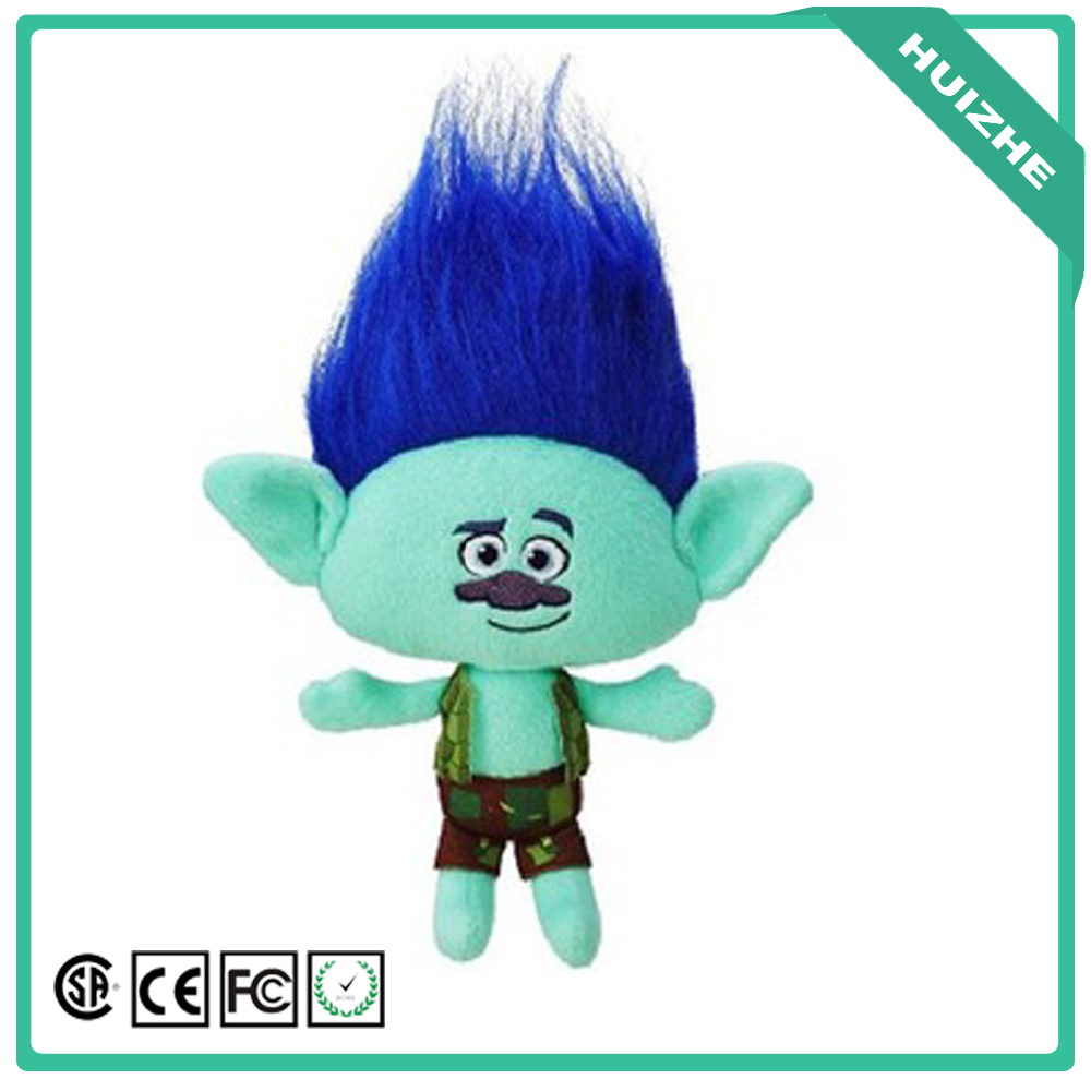 New Design custom magical 23&36cm Blancpie plush doll trolls toys