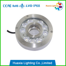 Stainless Steel IP68 LED Underwater fountain Lights (HX-HFL160-27W)