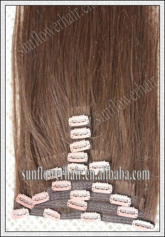 clip in hair extensions for black women hair color chestnut brown