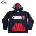 Factory latest style long sleeve oem hockey hoodie custom