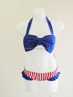 Hot Sale New Baby Girls Ruffle Sling Children's Swimwear One Piece Girl Swimsuit