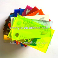 clear and colorful / cast and extruded acrylic / plexiglass sheets / acrylic tubes supplied from manufacturer plant