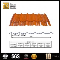 types roofing sheet/corrugated metal roofing sheet/color coated roofing sheet