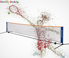 Good experience best nylon mesh portable height 80cm tennis net suitable for different filed