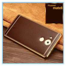 mold make cell phone case for huawei mate 8 leather cover